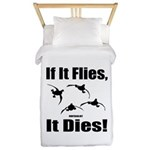 If It Flies, It Dies! Twin Duvet