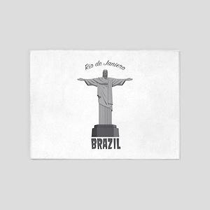 Rio de Janeiro 5'x7'Area Rug