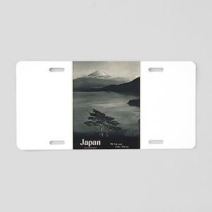 Vintage poster - Japan Aluminum License Plate