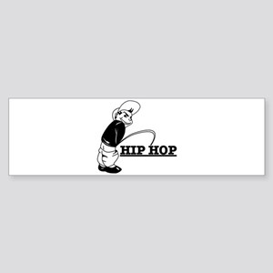 Piss on Hip-hop Bumper Sticker