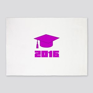 Graduation 2016 designs 5'x7'Area Rug