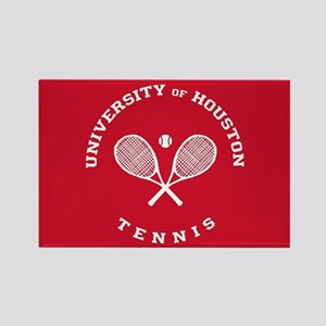 University of Houston Tennis Rectangle Magnet