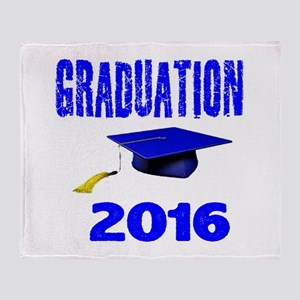 Graduation 2016 designs Throw Blanket