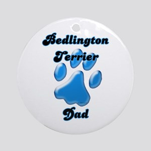Bedlington Dad3 Ornament (Round)
