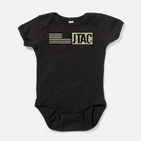U.S. Air Force: JTAC (Black Flag) Baby Bodysuit