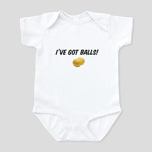 I've got balls! Infant Bodysuit