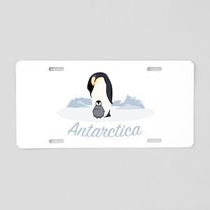 Antarctica Aluminum License Plate