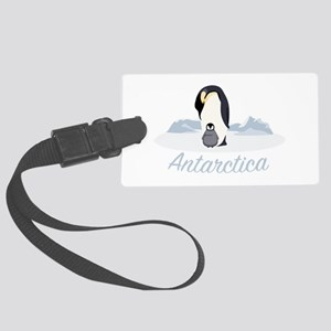 Antarctica Luggage Tag