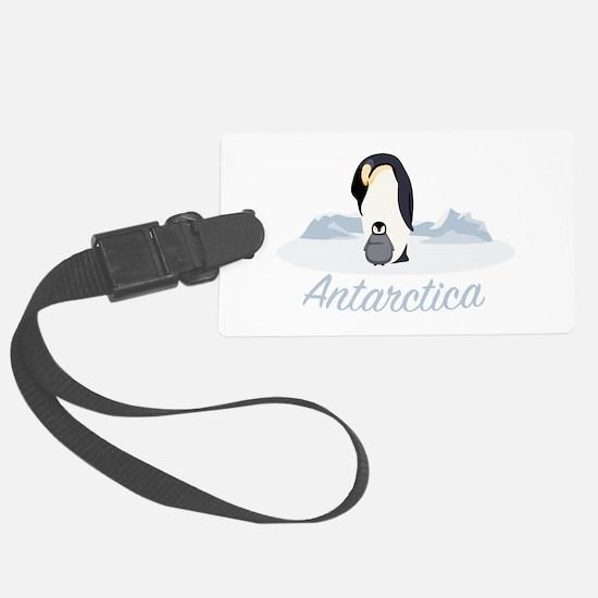 Antarctica Luggage Tag