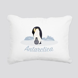 Antarctica Rectangular Canvas Pillow