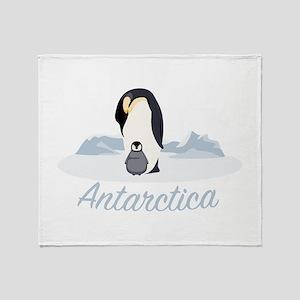 Antarctica Throw Blanket
