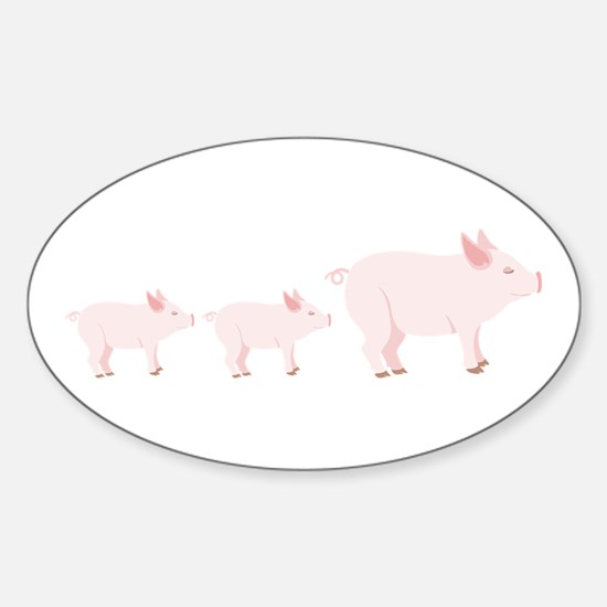 Little Pigs Decal