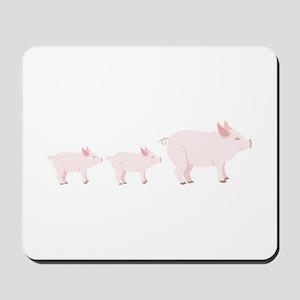 Little Pigs Mousepad