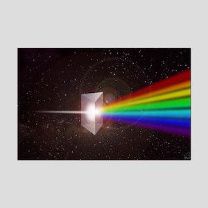 Space Prism Rainbow Spectrum Mini Poster Print