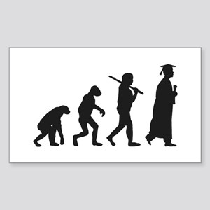 Graduation Evolution Sticker