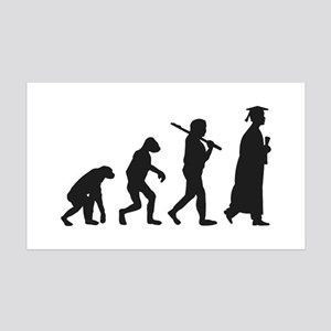 Graduation Evolution Wall Decal