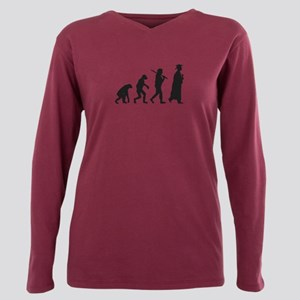Graduation Evolution Plus Size Long Sleeve Tee