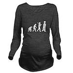 Graduation Evolution Long Sleeve Maternity T-Shirt