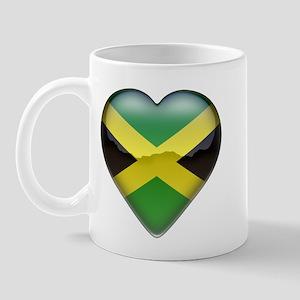 Jamaica Heart Mug