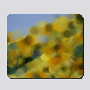 Impressionist Flowers Mousepad