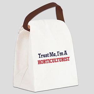 Trust me, I'm a Horticulturist Canvas Lunch Bag