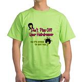 Hair stylist Green T-Shirt