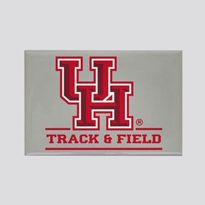UH Track & Field Rectangle Magnet