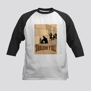 SHALOM Y'ALL Kids Baseball Jersey
