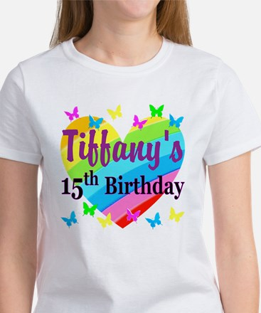 PERSONALIZED 15TH Women's T-Shirt
