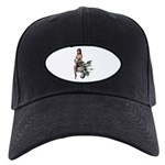 Keely Black Cap