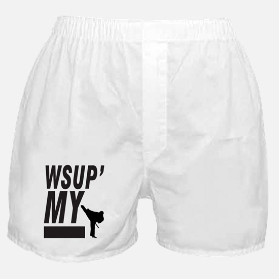 Wsup my ninja Boxer Shorts