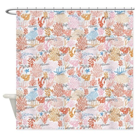 Coral Reef Shower Curtain By Admin CP79210469
