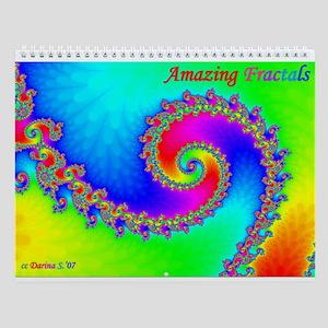 AMAZING Fractals Wall Calendar