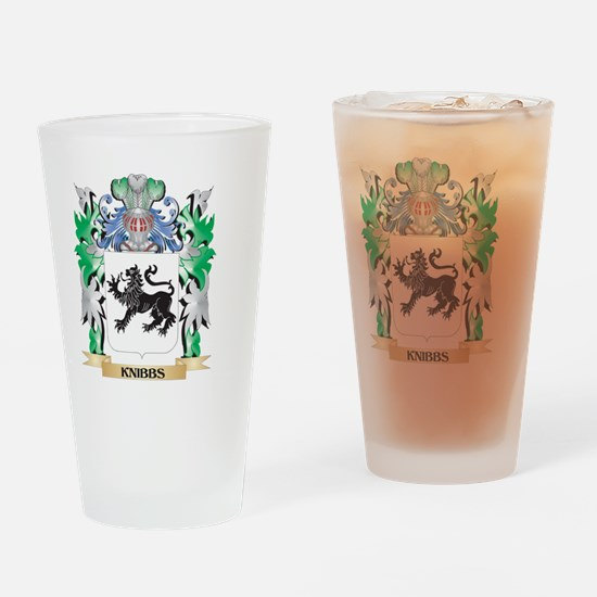 Knibbs Coat of Arms - Family Crest Drinking Glass