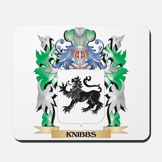 Knibbs Coat of Arms - Family Crest Mousepad