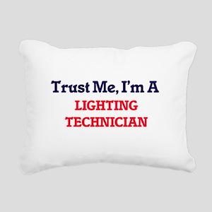 Trust me, I'm a Lighting Rectangular Canvas Pillow