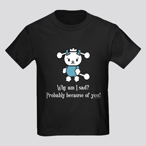 Funny and Sad Poodle T-Shirt
