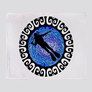 SCUBA Throw Blanket