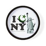 Statue of Liberty - Eid Ramadan Islam Wall Clock