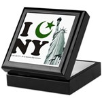 Statue of Liberty - Eid Ramadan Islam Keepsake Box