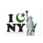 Statue of Liberty - Eid Ramadan Islam Postcards (P
