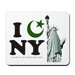 Statue of Liberty - Eid Ramadan Islam Mousepad