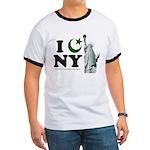 Statue of Liberty - Eid Ramadan Islam Ringer T