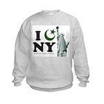 Statue of Liberty - Eid Ramadan Islam Kids Sweatsh