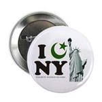 Statue of Liberty - Eid Ramadan Islam Button