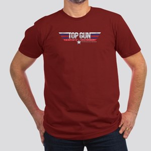 Top Gun 30th Anniversa Men's Fitted T-Shirt (dark)