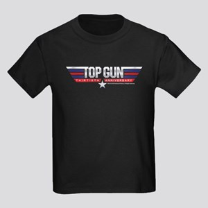 Top Gun 30th Anniversary Kids Dark T-Shirt
