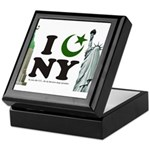 New York City under Islam Keepsake Box