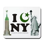 New York City under Islam Mousepad