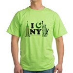 New York City under Islam Green T-Shirt